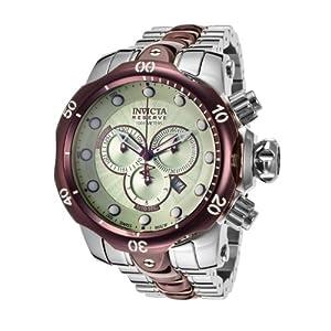 Invicta Men's 13881 Venom Analog Display Swiss Quartz Silver Watch