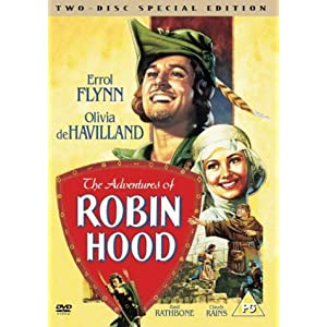 The Adventures Of Robin Hood [DVD]: Amazon.co.uk: Errol Flynn ...