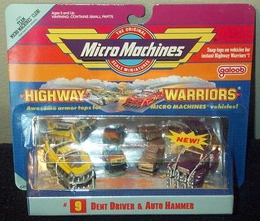 Highway Warriors Dent Driver & Auto Hammer Collection #9 - Buy Highway Warriors Dent Driver & Auto Hammer Collection #9 - Purchase Highway Warriors Dent Driver & Auto Hammer Collection #9 (Awesome Armor Tops for Micro Machines Vehicles!, Toys & Games,Categories,Pretend Play & Dress-up,Sets,Construction Tools)
