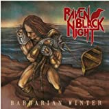 Barbarian Winter Raven Black Night