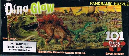 Dino Glow Panoramic Puzzle