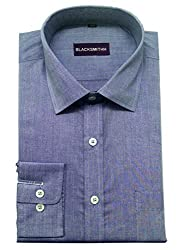 Blacksmith Men's Formal Shirt_1968096031BLSHIRTGIZA2_Blue Husk_42
