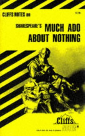 Image for Much Ado About Nothing: Notes (Cliffs Notes)
