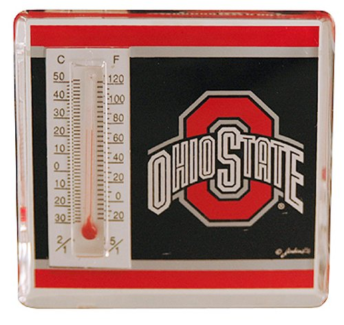 NCAA Ohio State Buckeyes Magnetic Lucite Thermometer at Amazon.com