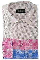 Edinwolf Men's Formal Shirt (EDFR715_38, Multi-Coloured, 38)