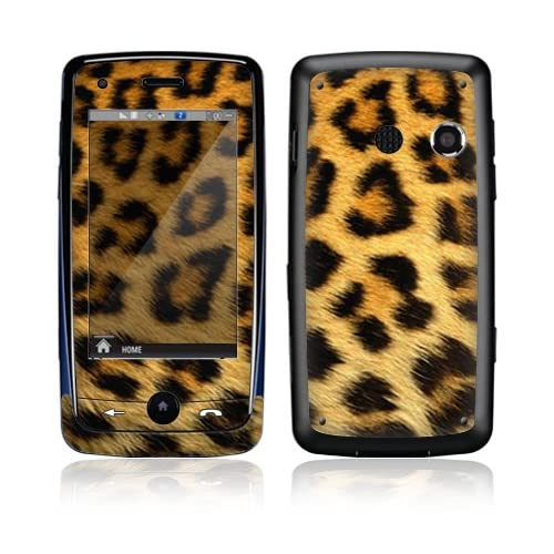 Leopard Print Decorative Skin Cover Decal Sticker for LG Rumor Touch LN510 Cell Phone