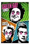 Green Day Uno Dos Tre Poster - 91.5 x 61cms (36 x 24 Inches)