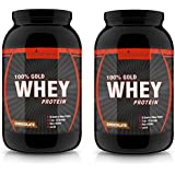 Natures Velvet Combo Of 100% Gold Whey Protein, 2 Lb Chocolate