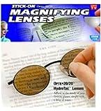 OPTX 20/20 Stick-On Bifocals, 1.25