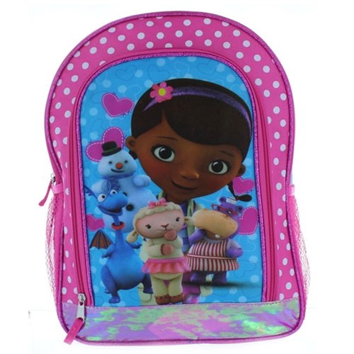 Fast Forward Disney Doc McStuffins Backpack - 15in - 1