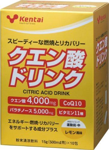 kentai クエン酸ドリンク レモン 500ml用 ×10包