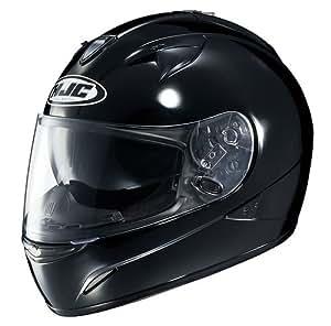 HJC Helmets IS-16 Helmet (Black, Small)