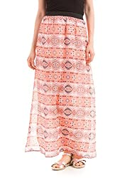 Prym Women's Full Skirt (1011636299_Multicolor_Large)
