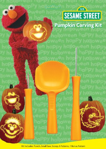 Paper Magic Group Pumpkin Carving Kit, Sesame Street - 1