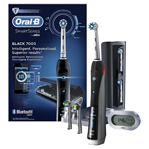 Oral-B Pro 7000 SmartSeries Spazzolino Elettrico Ricaricabile, Nero