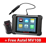 Autel Maxisys MS906BT Automotive OBD2 Scanner Diagnostic Tool with EPB, ABS/SRS, SAS(Upgraded Version of DS708/MS906) MaxiVideo MV108 Digital Inspection Camera