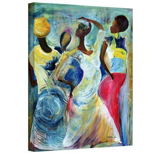 """ArtWall Ikahl Beckford's Sister Act 2002 Gallery Wrapped Canvas, 24 x 32"""""""