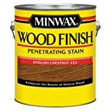 Minwax 710440000 Wood Finish Penetrating Stain, gallon, English Chestnut (Color: English Chestnut, Tamaño: Gallon)