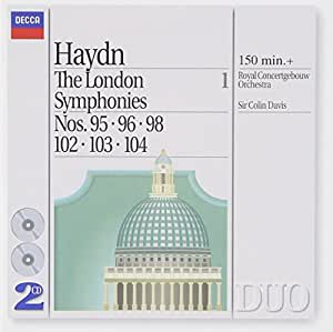Haydn: London Symphonies, Vol.1