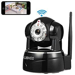 IP Camera, Uokoo 720P WiFi Security Camera