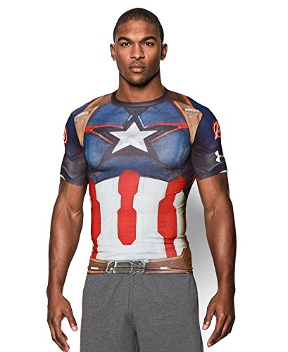 15 cool super hero t shirts for guys from under armour for Hulk under armour compression shirt