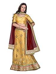 Kanheyas Net Embroidered Lehanga