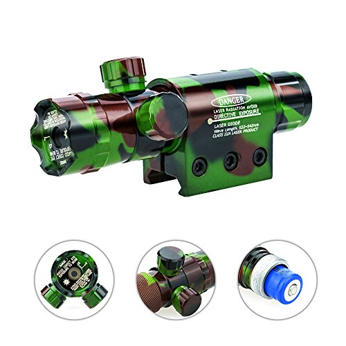 For Sale! Lirisy Green Laser Sight, Camo Design 532nm Adjusted Hunting Rifle Green Dot Sight Laser T...