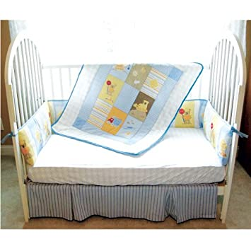 Stunning Luvable Friends Boy us Piece Construction Bedding Set