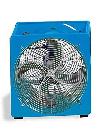 "Supervac 230/460VAC Industrial Ventilation Fan with 1.5 Hp Hazardous Location Motor, 24"" Blade Diameter (Pack of 1)"