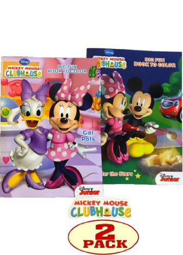 Mickey Mouse Clubhouse Coloring Book Set - 1