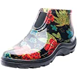Sloggers 2841BK09 Women's Rain and Garden Ankle Boots with Comfort Insole, Size 9, Midsummer Black