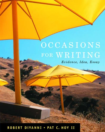 Occasions for Writing (with 2009 MLA Update Card)