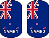PERSONALISED NEW ZEALAND DOG TAG CAR AIR FRESHENER