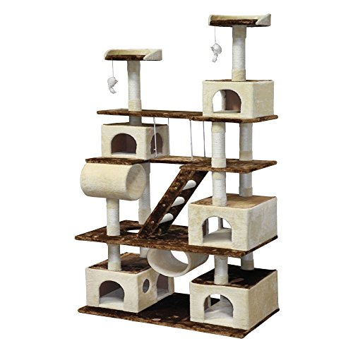 Cool cat tree plans go pet club cat tree reivew for Cat condo plans free