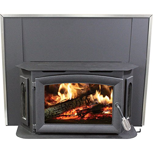 Ashley Hearth Products Wood-Burning Insert - 79,000 BTU, EPA-Certified, Model# AW81 (Fireplace Inserts Wood compare prices)