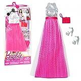 Barbie - Tendencia de la Moda para la Ropa de la Mu�eca Barbie - Vestido de Noche Rosa Plata