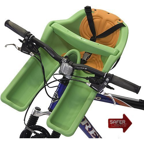 iBert Safe-T Front Mounted Child Bicycle Seat with Free Safer Light LED Safety Reflector at Sears.com