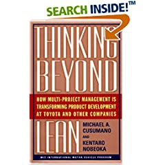 "Need ""Thinking beyond Lean"" & ""Lean Project Management: Eight Principles For Success"""