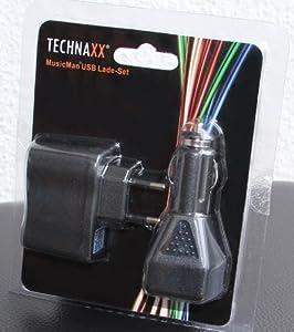 MusicMan 3759 Chargeur USB Noir