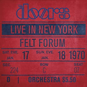 The End [Live At Felt Forum, New York City, January 17, 1970 - Second Show]