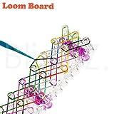 Toy - TheBlingZ.� Loom Bands Rahmen Gummib�nder Rainbow Webrahmen Glitzer Armband