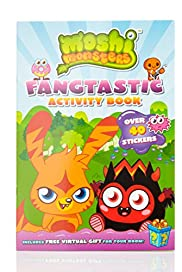 Moshi Monsters Fangtastic Activity Book [T79-6774B-S]