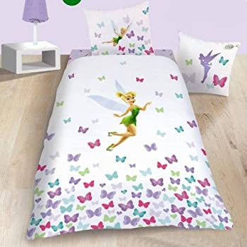 Pas cher parure de lit enfant f e clochette fresh for Parure de lit enfant pas cher