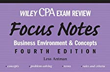 Wiley CPA Examination Review Focus Notes Business Environment and Concepts by Kevin Stevens