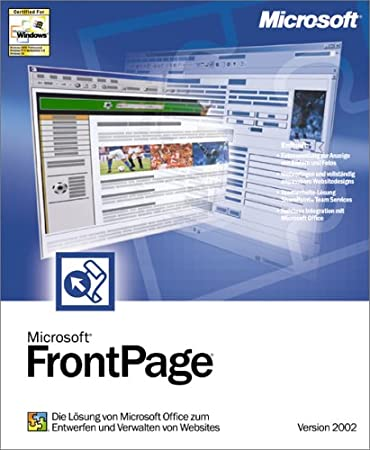 Microsoft FrontPage 2002 (für PC)
