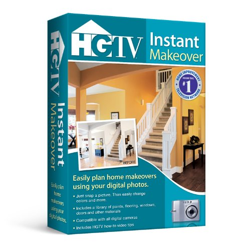 Free Home Decorating Software: HGTV Instant Makeover Software Computer Software