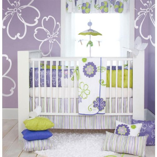 Glenna Jean LuLu 4 Piece Baby Crib Bedding Set