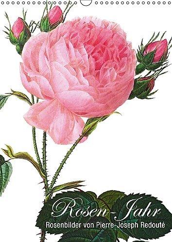 Rosen-Jahr (Wandkalender 2017 DIN A3 hoch): Rosenbilder von Pierre-Joseph Redouté (Monatskalender, 14 Seiten ) (CALVENDO Natur)