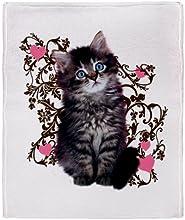 CafePress Kitten Kitty Cat Lover Throw Blanket - Standard Multi-color