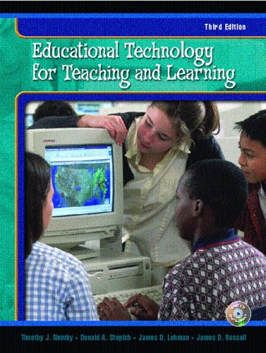 Educational Technology for Teaching and Learning (3rd Edition)